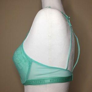 Victoria's Secret Intimates & Sleepwear - 2/$25 NWT Victoria's Secret Seafoam Green 34C